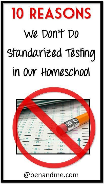 standardized testing in the us why