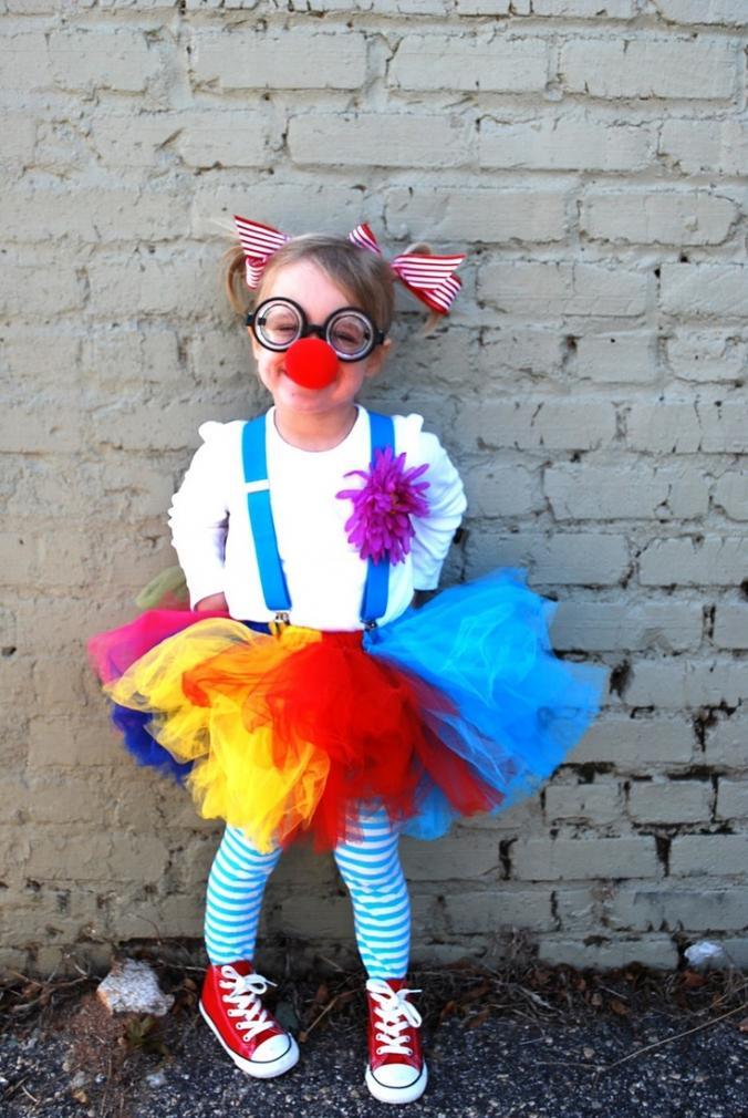 Смешной костюм для девочки