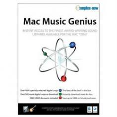 Mac Music Genius gives you instant access to the finest, award-winning sound libraries available for the Mac today. There's over 1000 of the 'Best Of' Apple Loops from AMG's award winning catalog.