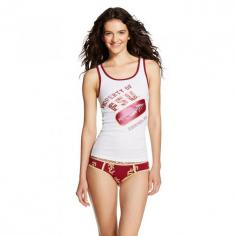 Show some love for the Seminoles in the Women's NCAA Florida State PJ Set White. This two piece sleep set is both sports wear and sexy underwear. Wear the Florida State panties on game day in silent support of the team. Pair the tank top with jeans and a flannel and get ready to cheer. Or uncover it all and wear this darling set as pajamas-watching FSU win from the couch. Go Seminoles! Size: L. Color: White. Gender: Female. Age Group: Adult. Material: Flannel.